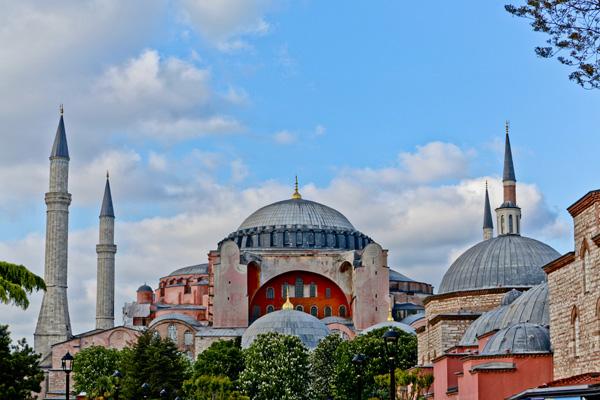 Tableau photo design du musée Sainte Sophie à Istanbul.Tableau pas cher, tableau déco, tableau moderne.Tableau photo décoration murale. Tableau toile photo