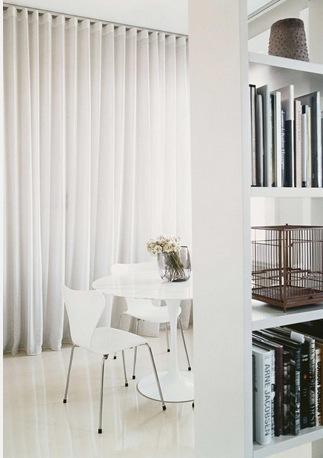 11 astuces d co pour optimiser les petits espaces picsmyhome - Rideau pour cacher etagere ...