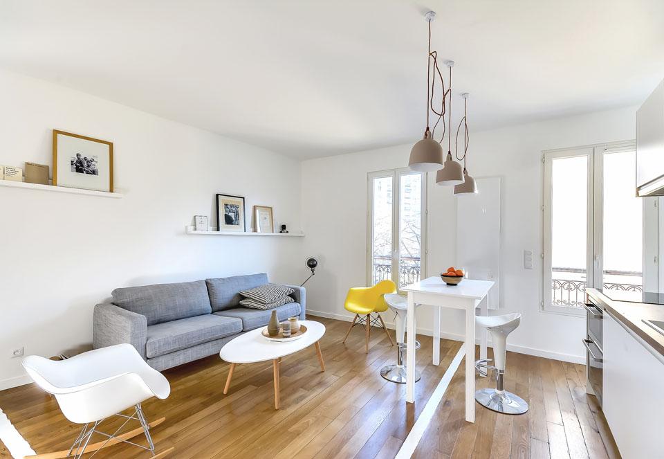 Aménagement et déco de petit appartement parisien par l'architecte ...