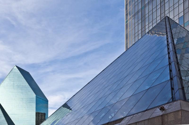Tableau photo «pyramide» Dallas