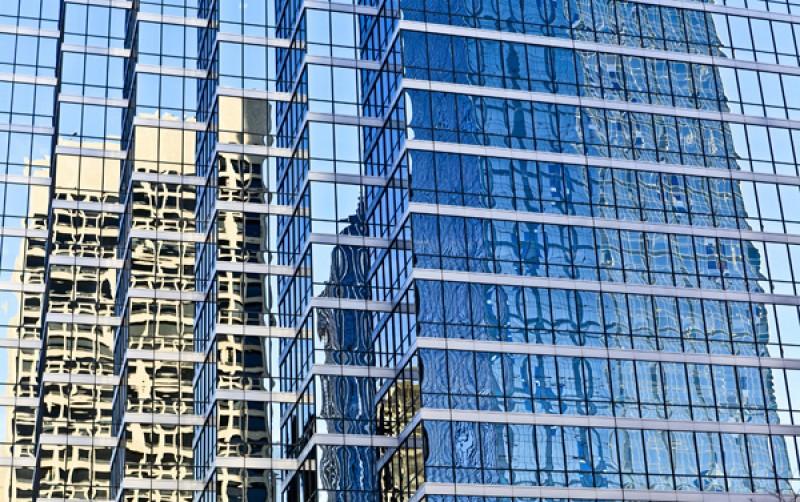 Tableau photo «reflets urbains» Dallas