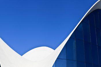 Tableau photo design toit de Valence