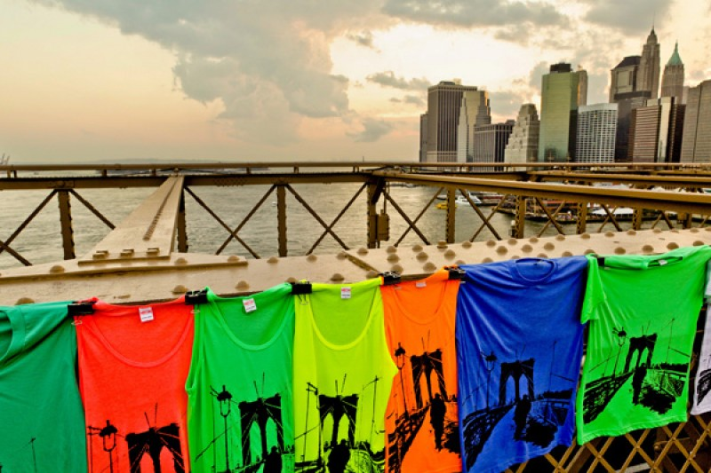 Tableau photo New York Brooklyn Bridge