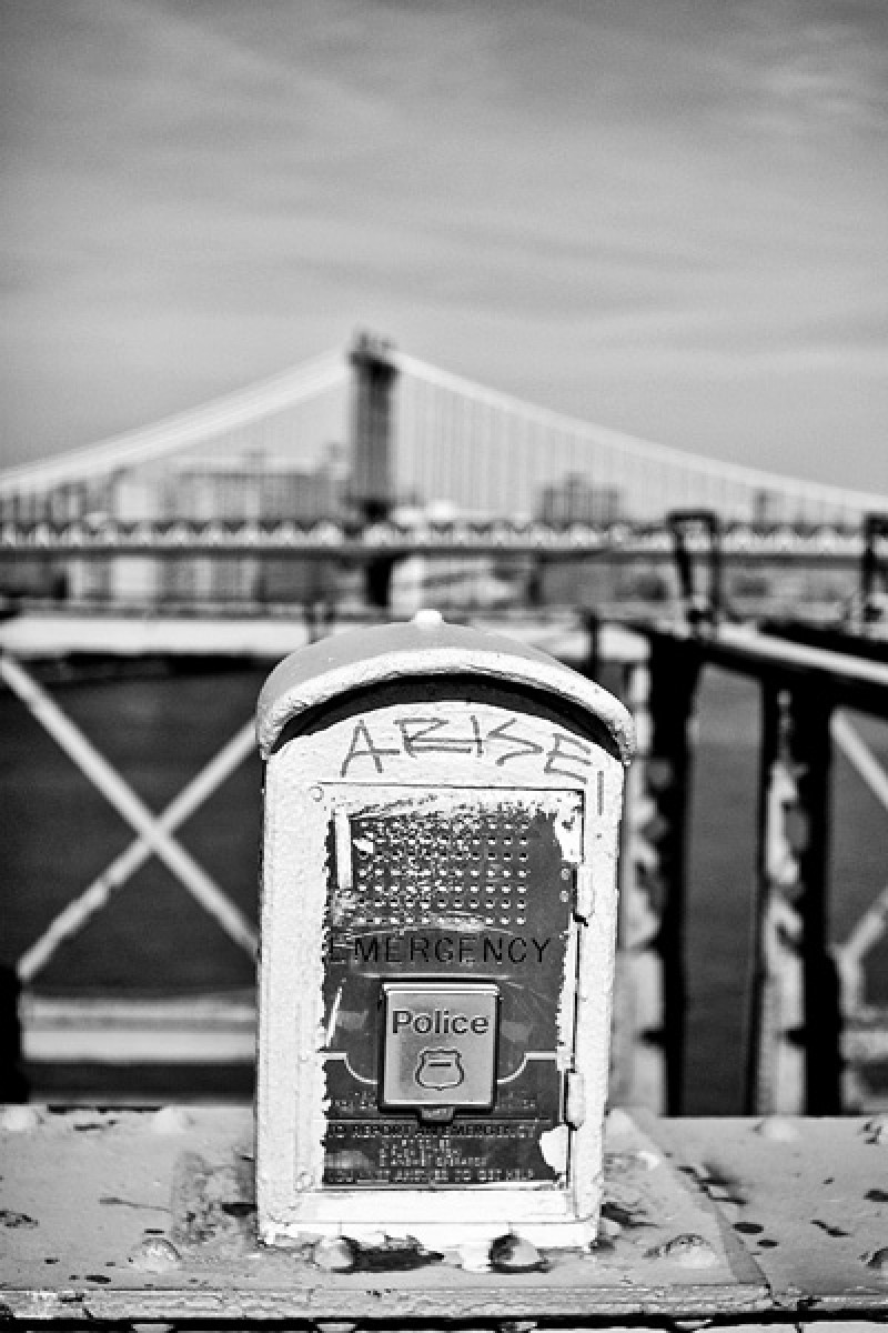 Tableau photo New York Brooklyn Bridge & box