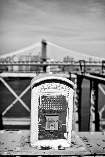 Tableau photo New York Brooklyn Bridge & box